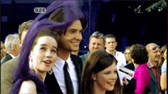 Haha! Ben saved Anna's scarf! Too funny!! And I also love how he just kept smiling the whole time too!! Makes you smile!!