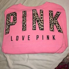 VS Pink cheetah crew VS Pink cheetah crew!!! Absolutely love just don't wear as much anymore. It is in excellent condition. Does have some light pilling. No cracks, stains, or rips. True to size. Wanting to trade!!! Price is negotiable PINK Victoria's Secret Sweaters Crew & Scoop Necks