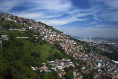 #Favela #View #Rio #Brazil #Travel