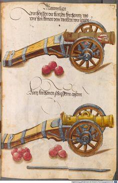 Zeugbuch Kaiser Maximilians I Innsbruck, um 1502 Cod.icon. 222  Folio 39r
