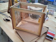 """Making a observation box/hive out off  """"scrapwood"""""""