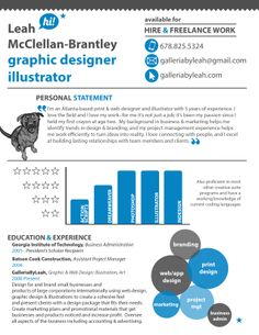 i design infographic resumes check out my portfolio by clicking on the pic - Infographic Resumes