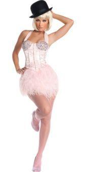 Adult Burlesque Ballerina Costume Deluxe- New Costumes- Sexy Costumes- Halloween Costumes - Party City
