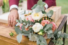 Bohemian French Wedding Inspired by their Childhood