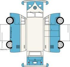 Essa é para os apaixonados por carros antigos  :-) Uma combi para montar no final de semana e decorar seu escritório... basta clicar em cim...