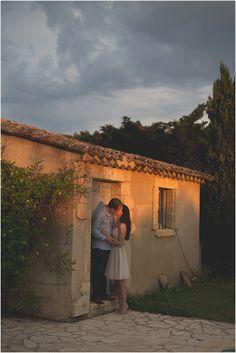 Chicago Portrait Photographer   Engagement session   Provence, France