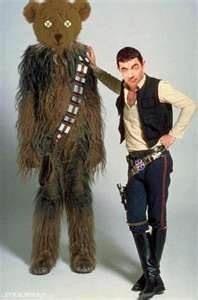 Star Wars' Han Solo (Harrison Ford) and Chewbacca the Wookie. Harrison Ford, Star Trek, Star Wars Characters, Star Wars Episodes, Star Wars Disney, Film Mythique, Peter Mayhew, Han Solo And Chewbacca, Chewbacca Costume