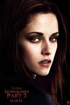 """Movie Poster: Kristen Stewart (Bella Swan) in """"The Twilight Saga: Breaking Dawn Part Twilight Film, Twilight Saga Series, Twilight Breaking Dawn, Breaking Dawn Part 2, Twilight Quiz, Funny Twilight, Vampire Twilight, Twilight Edward, Twilight Cast"""