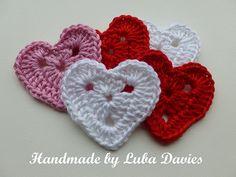 Ravelry: Crochet Heart motif (1) pattern by Crochet- atelier