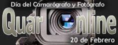 20 de Febrero se celebra el Día del Camarógrafo y Fotógrafo. http://www.quaronline.com/