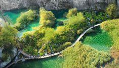 діагоналі Плітвицьких озер