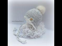 (40) Kulišanka Batole Crochet Baby Beanie - YouTube