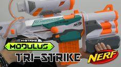 Nerf Modulus Tri-Strike - Démonstration en français