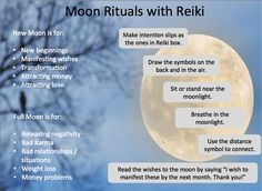 This infographic was inspired by Moon Rituals with Reiki article written by Ananya Sen. Click the image to see it in full size, then click Back in your browser to return here. Word your intention slips according to the moon cycle. So for attracting things in your life, do this ritual around the New Moon and for releasing, …