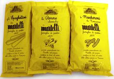 Martelli Pasta Packaging - Material Archive