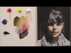 Pintar con veladuras 1. Retrato. Técnica grandes maestros. Curso de pintura. - YouTube