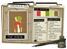 Case File No. 20 {Case Closes on May 27, 2012} - CSI: Color, Stories, Inspiration