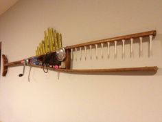 Barracuda made from a crutch (This particular one is no longer available, but there are other styles pictured.)
