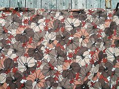 #Vintage 1970s double #duvet cover #retro flower pattern - mid century - camper v,  View more on the LINK: 	http://www.zeppy.io/product/gb/2/282241795269/
