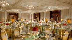 Grand Ballroom at The Leela Palace Chennai