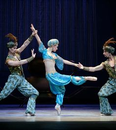 Nevada Ballet's rendition of Arabian Dance from the Nutcracker--THAT COSTUME…