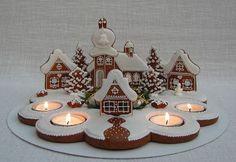 Christmas Wreaths, Merry Christmas, Christmas Decorations, Xmas, Holiday Decor, Mason Jar Crafts, Mason Jars, Advent Wreath, Cookies