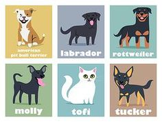 Doggie Drawings - these are so cute. The artist does custom portraits as well. Points for having my dog's breed! American Labrador, Dogs Online, Dog Artist, Pet Breeds, Ad Art, Dog Paintings, Dogs Of The World, Dog Behavior, Pitbull Terrier