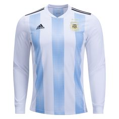 e3c7c44c3 adidas Argentina Long Sleeve Home Jersey 2018-3xl Mls Soccer