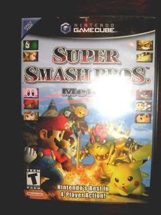 from $3999 - #nintendo Gamecube Super Smash Bros. Melee Super Smash Bros Melee, Superstar, Mario, Nintendo, Teen, Baseball Cards, Ebay