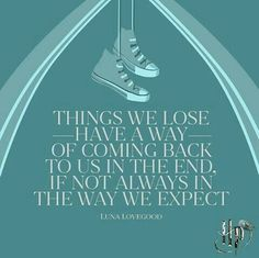 Things we lose have a way of coming back to us in the end, if not always in the way we expect. - Luna Lovegood to Harry Potter - Tap the link to shop on our official online store! You can also join our affiliate and/or rewards programs for FREE!