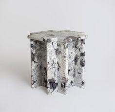 Red Hook, Hardware, Sculpture, Stone, Artwork, Table, Unique, Pattern, Design