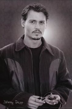 Johnny Depp Portrait of the Artist as A Young Man Pin-Up Poster 24x36