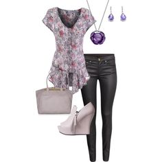 """Thursday; outfit for dress casual"" by bsimon623 on Polyvore"