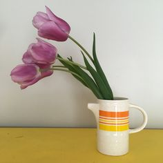 Retro Creamer @b.and.c.home Kitchenware, Mid Century, Vase, Retro, Home Decor, Homemade Home Decor, Decoration Home, Room Decor, Medieval