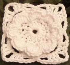 bloemen haken haakles crochet flower pattern lesson tutorial