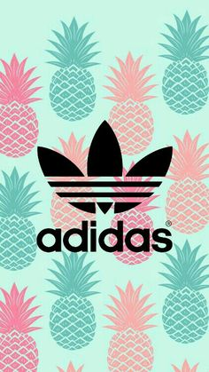 Ideas for wallpaper summer ananas Adidas Iphone Wallpaper, Android Wallpaper Black, Iphone Background Wallpaper, Cool Adidas Wallpapers, Tumblr Wallpaper, Girl Wallpaper, Disney Wallpaper, Adidas Backgrounds, Cute Wallpaper Backgrounds