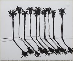 Palm Road by Wayne Thiebaud