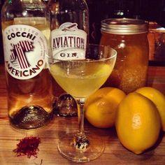 Nothing says 'summer party' like a lemon cocktail! http://www.hgtvgardens.com/recipes/boozy-botanicals-a-meyer-lemon-sip?soc=pinterest