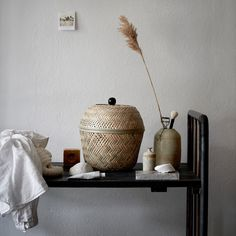 This bamboo basket is handwoven by skilled artisans and is part of our TJILLEVIPS collection. With its soft shape and color, it adds a decorative touch wherever you choose to put it. Crate Storage, Wicker Baskets Storage, Bamboo Shop, Ikea Home, Ikea, Basket, Basket And Crate, Ikea Storage Boxes, Ikea Storage Baskets