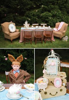 Mad Hatters Alice in Wonderland Tea Party