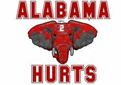 Alabama 2 Hurts, made by CNWC