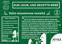 #recette #bébé du jour #43 #plat #dès8mois : Petit minestrone revisité