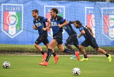 Alessio Cerci of Italy during a training session on June 10 2014