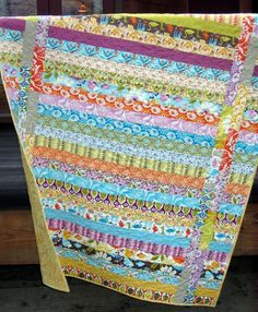 PDF QUILT PATTERN.... Quick and Easy...one Jelly Roll ...  Between the Lines. $9.00, via Etsy.