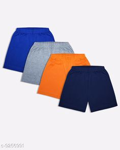 Shorts & Capris Luke and Lilly Boy's Cotton Shorts Pack of 4 Fabric: Cotton Pattern: Solid Multipack: 4 Sizes:  4-5 Years 5-6 Years 10-11 Years 11-12 Years 3-4 Years 8-9 Years 6-7 Years 7-8 Years 9-10 Years 2-3 Years Country of Origin: India Sizes Available: 2-3 Years, 3-4 Years, 4-5 Years, 5-6 Years, 6-7 Years, 7-8 Years, 8-9 Years, 9-10 Years, 10-11 Years, 11-12 Years   Catalog Rating: ★4.1 (712)  Catalog Name: Tinkle Stylish Kids Boys Shorts CatalogID_1613160 C59-SC1175 Code: 013-9256991-998