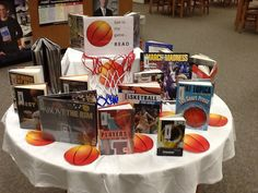 Get in the Game  --great sports display title for bookstores too
