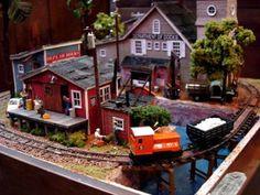 箱庭鉄道模型 HOナローゲージレイアウト ジオラマ