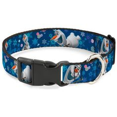 Buckle-Down Frozen Olaf Poses/Snowflakes Blues Plastic Clip Collar ** You can get more details by clicking on the image. (This is an affiliate link and I receive a commission for the sales)