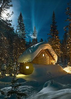 New winter landscape photography cabin 35 Ideas Winter Szenen, Winter Cabin, Winter Love, Winter Pictures, Cool Pictures, Photo Images, Snow Scenes, Winter Beauty, Cabins In The Woods