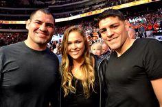 Cain Velasquez - Ronda Rousey - Nick Diaz